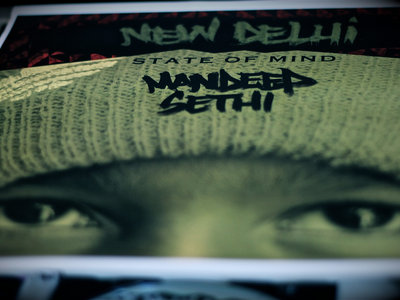 New Delhi State of Mind - Limited Edition Signed Poster [Free Digital Download Included]