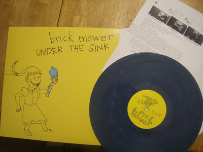 Under the Sink LP -  1st Pressing out of print (2nd press soon)