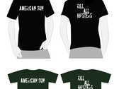 American Gun Discography Compact Discs with Kill All Hipster T-Shirt