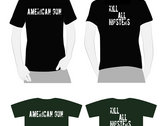 Kill All Hipster T-Shirt with digital download of The Means & The Machine