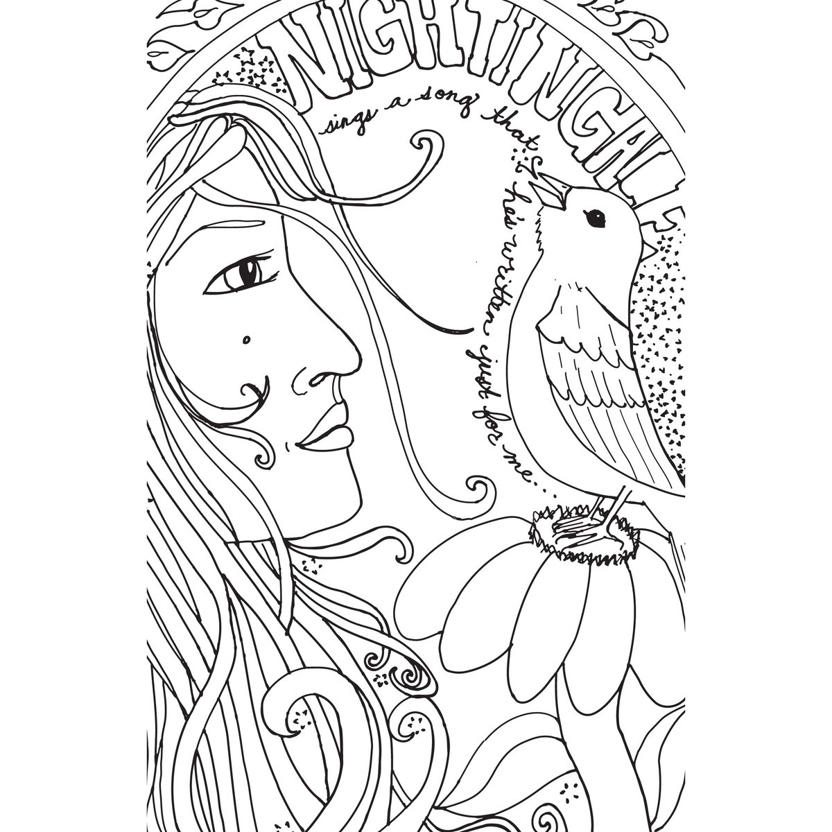 Free Coloring Pages Of God Made Me