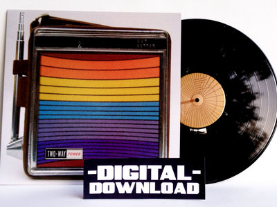 Digital Album + LP (150 gram black vinyl)