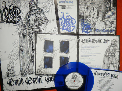 "Druid Death Cult 7"" (w/ artwork by Riddick)  U.S. SALES ONLY! main photo"