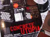 CONCRETE UTOPIA Ltd.Ed. IMPORTED 11X17 POSTER