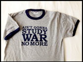 Men's Study War No More Shirt