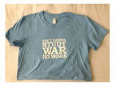Women's Study War No More Tee