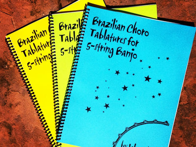 Brazilian Choro Tablatures for 5-string Banjo main photo