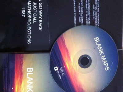 Blank Maps EP - Deluxe CD, Tote Bag and T-Shirt Edition main photo