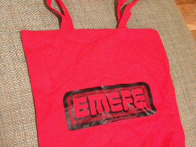 EMEFE Logo Red Tote Bag