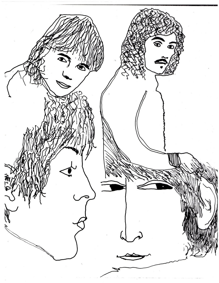 Free coloring pages of the beatles for Beatles coloring book pages