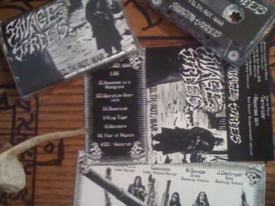 FILTH/ROT/WAR tape