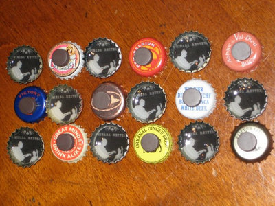Bottle Cap Magnets main photo