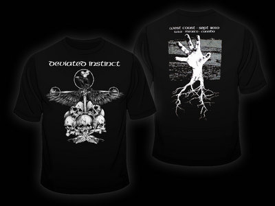 Crow shirt design + Liberty Crawls digital album download