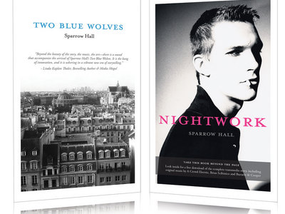 Two Blue Wolves & Nightwork – Special Combined Edition Paperback (w/ Digital Soundtrack & More) main photo