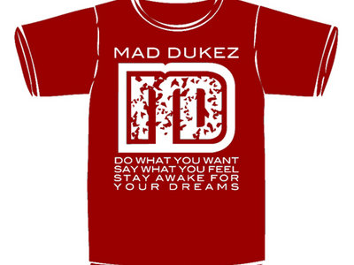Mad Dukez T-Shirt (Red)
