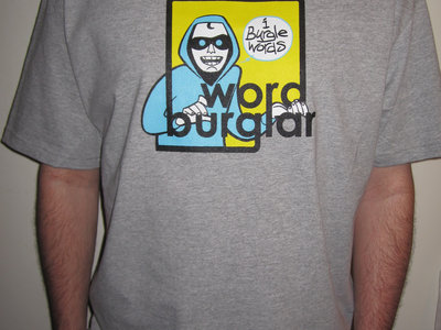 Wordburglar T-Shirt (new school logo) main photo