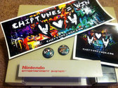 ChipWIN Sticker & Button Bundle of WIN