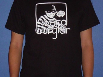 Wordburglar T-shirt (old school logo) main photo