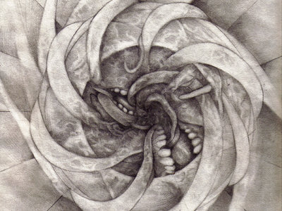 Abattoir Vortex - Pencil Drawing 9&quot;x12&quot; - P. Emerson Williams main photo