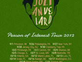 Person Of Interest Tour Poster