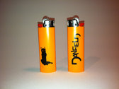 Danfield Black Cat Lighter (orange)