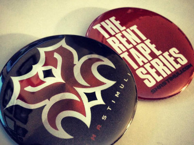 The Rent Tape Series/Sha Stimuli Button Set