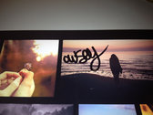 "Owsey: 4"" x 6"" photograph, autograph & 8 tracks! photo"