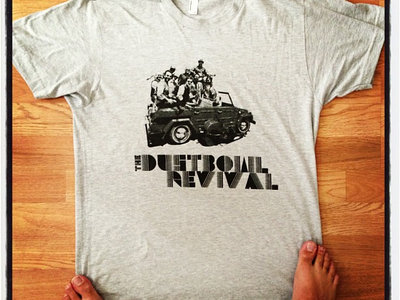 DUSTBOWL DUNE-BUGGY SHIRT (BLUE + GREY) main photo