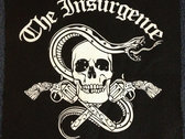 Snake Skull Guns Back Patch