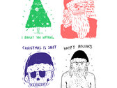 8 Wolfmask Christmas Cards
