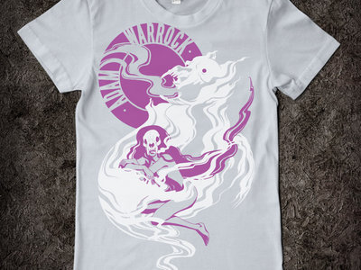 Silver Smoking Lady Tshirt - S and Womens sizes only