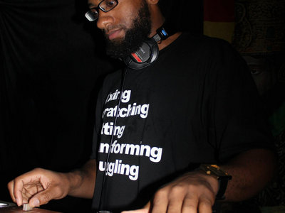 50% OFF SALE!!! DJ Priority (Mixing, Scratching, Cutting, Transforming & Juggling) Shirt main photo
