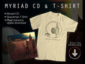 CD + Spaceman T-Shirt + Digital Download
