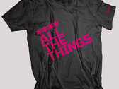 **** ALL THE THINGS (Mens Pink)
