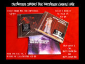 CD BUNDLE: Satan's Kickin' Yr Dick In CD + First There Was the Emptiness CD + Near and Far Vol.2 CD