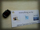 24 Steve Lawson/Lobelia albums + 45 Min Video, on USB Stick