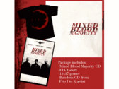 Mixed Blood Majority FIX Package Deal [2 CDs + Shirt]