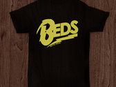 'Beds' Logo T-shirt (yellow/black)