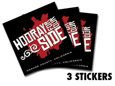Bumper Stickers (3 count)