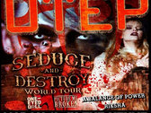 Ticket to OTEP w/RIKSHA @ Club Sound, Salt Lake City Utah - March 12th 2013