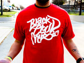 Black Cloud Music T-Shirt (Red)