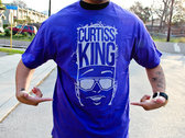 Curtiss King Logo T-Shirt (Purple)