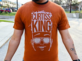 Curtiss King Logo T-Shirt (Orange)