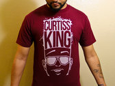 Curtiss King Logo T-Shirt (Burgandy)