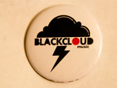 Black Cloud Music Logo (Button)
