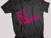 **** ALL THE THINGS (Womens Pink)