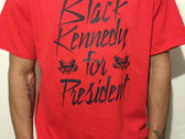 BLACK KENNEDY TEE (Red)