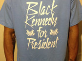 BLACK KENNEDY TEE (Carolina Blue)