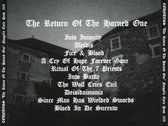 CD The Return Of The Horned One