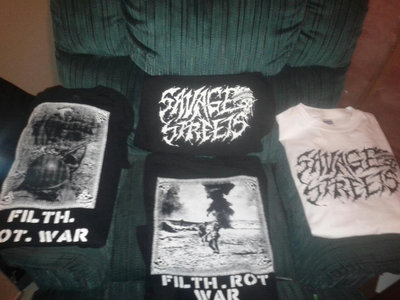 FILTH/ROT/WAR SHIRTS
